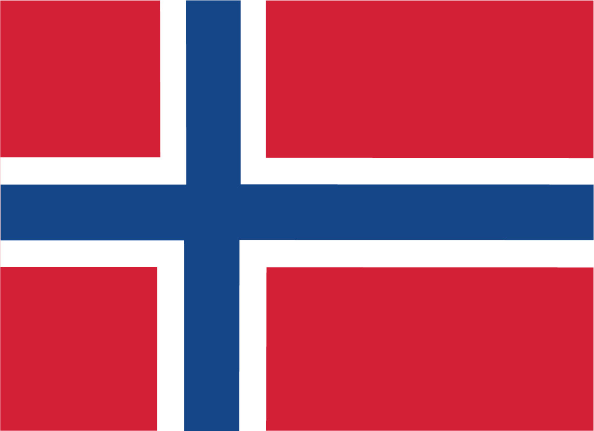 Norway (flag from Norden.org, CC BY-NC-SA 4.0)